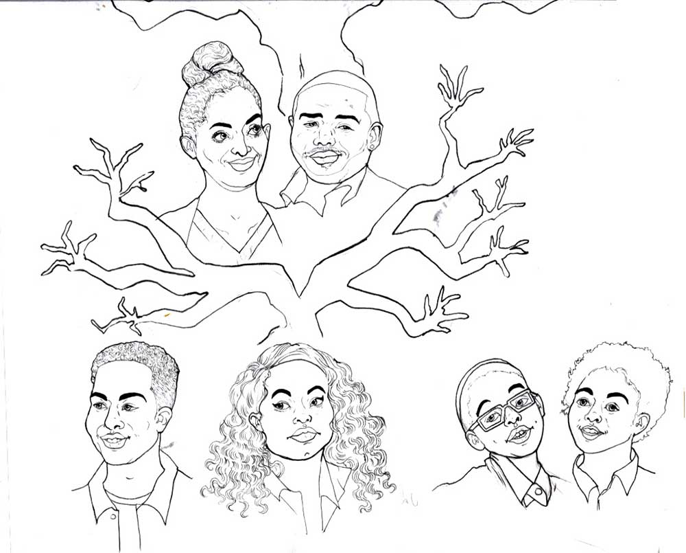 Drawing a Family Tree